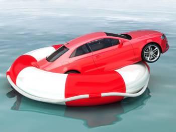 Авто на спасательном круге