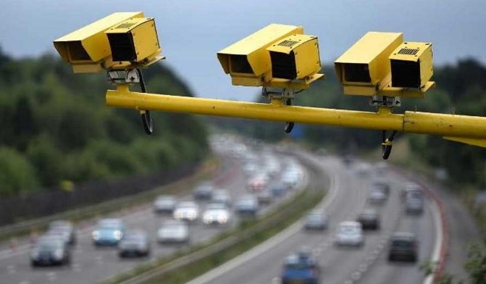 Выявление нарушителей с помощью камер на столбах