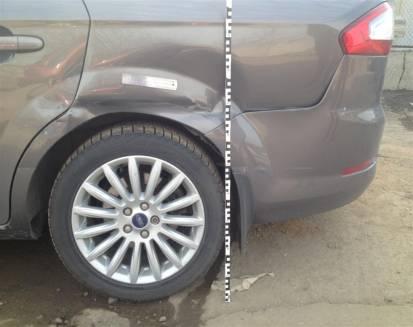 Урегулирование убытка по автомобилю Ford Mondeo