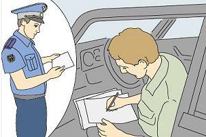 ДПС и водитель